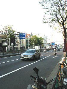 自転車の : 蒲田 自転車 多い : 大田区」 第二京浜国道 ...